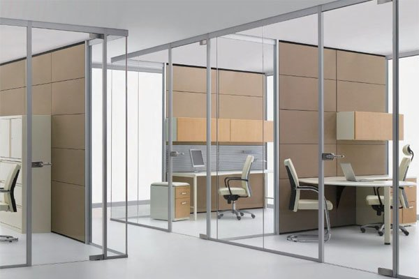 Office partition 10